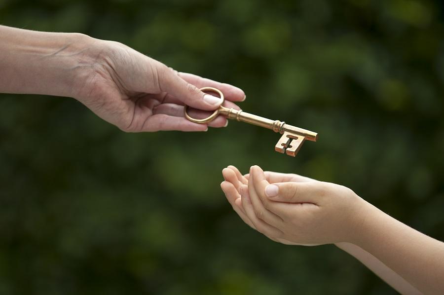 donaciones de padres a hijos
